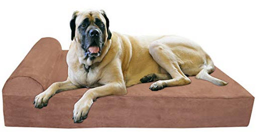 orthopedic bed for extra large and giant dogs